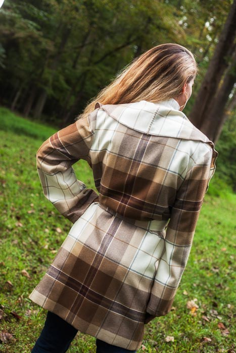 "My ""Cabin 8"" Plaid Coat"