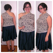 oneshoulderknittop collage