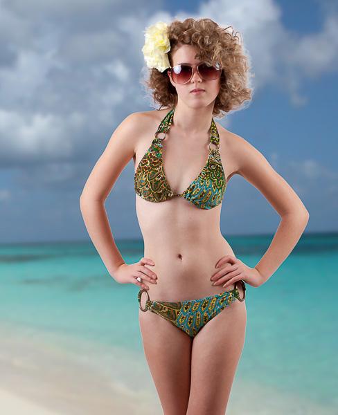 1970's inspired bikini