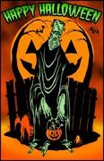 halloween frankee - toxictoons
