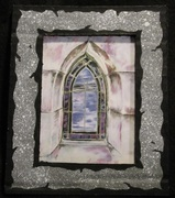 Stained Glass Oakland Cemetery Small print