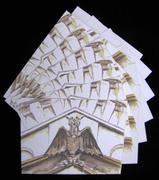 Oakland Cemetery Gargoyle 6pc Blank Note Card Set w/Envelopes