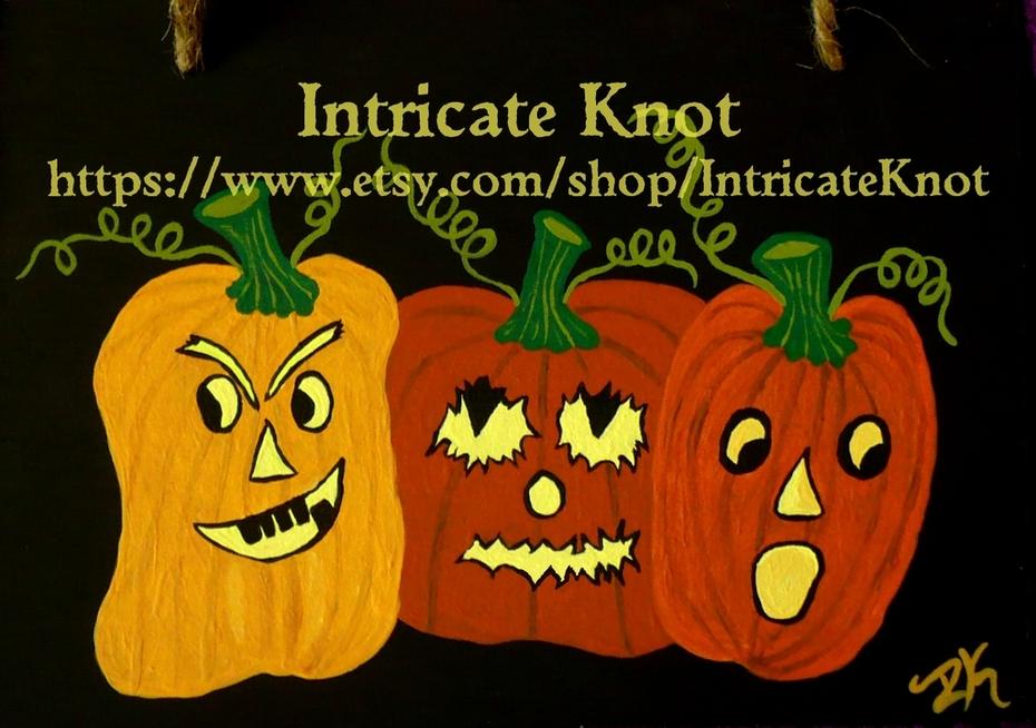 We Three Pumpkins of Halloween Are