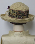 Organci Cotton Crocheted Breton