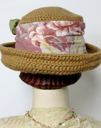 Organic Cotton Crocheted Breton