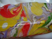 Close up Segment Of the Marbling