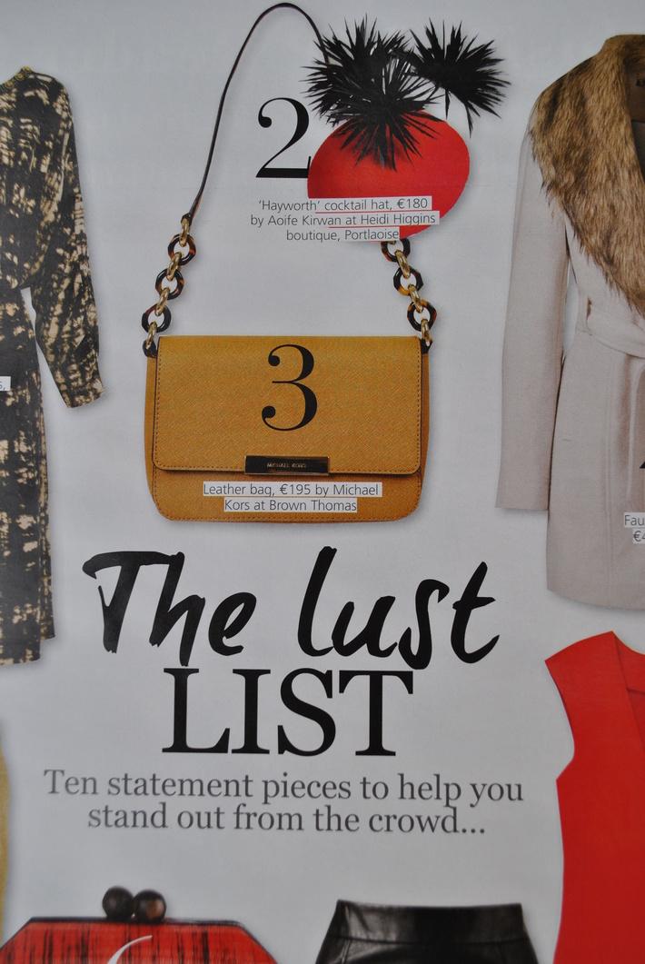 'Hayworth' in VIP magazine