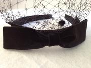 Velvet Headband Veil