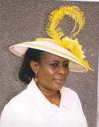 Beige & Yellow colour hat
