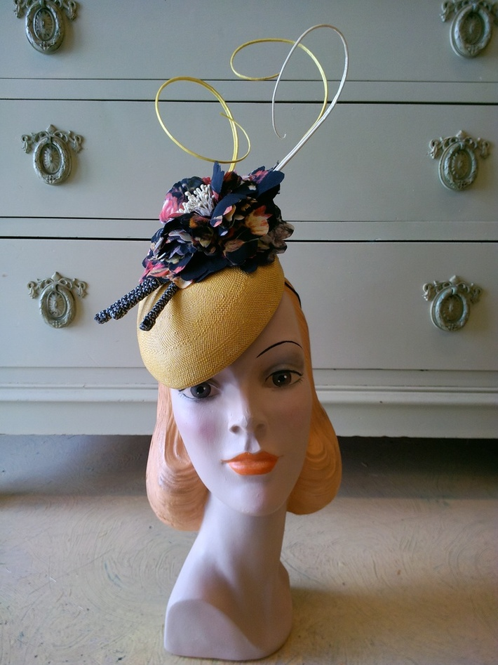 """Sandy"" by Ruby & Leo Millinery"