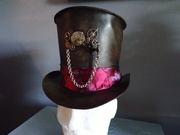 Leather Steampunk Hat