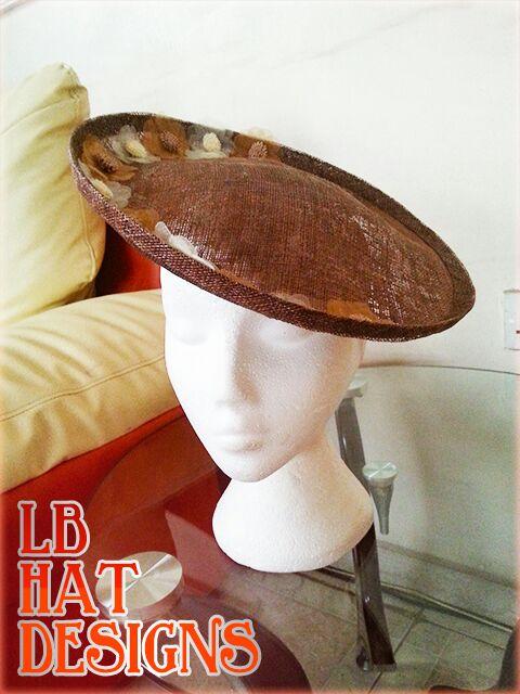 brown saucerhat