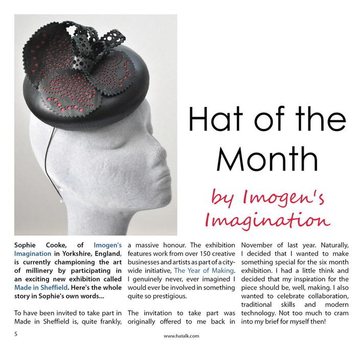 HATalk- Hat of the Month: Sept 2016