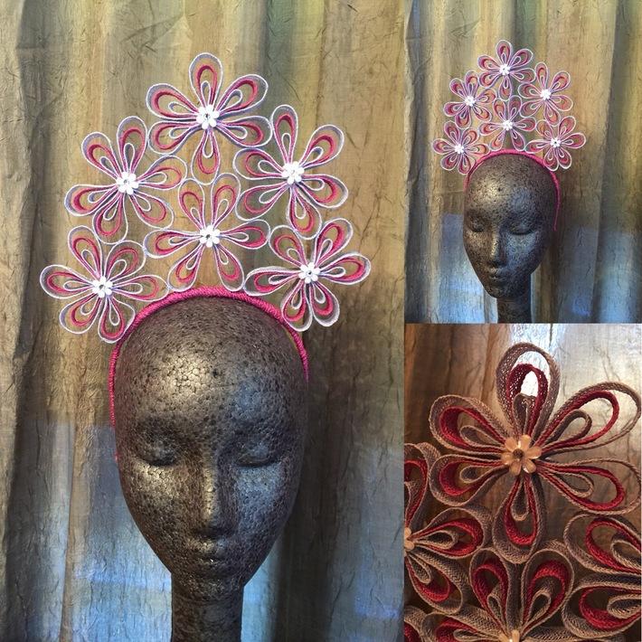 Hemp Braid Flower Crown