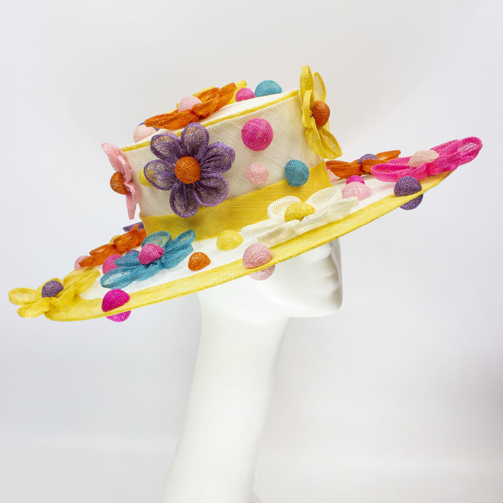 Dots and Daisies - Millinery by Amy Fowler