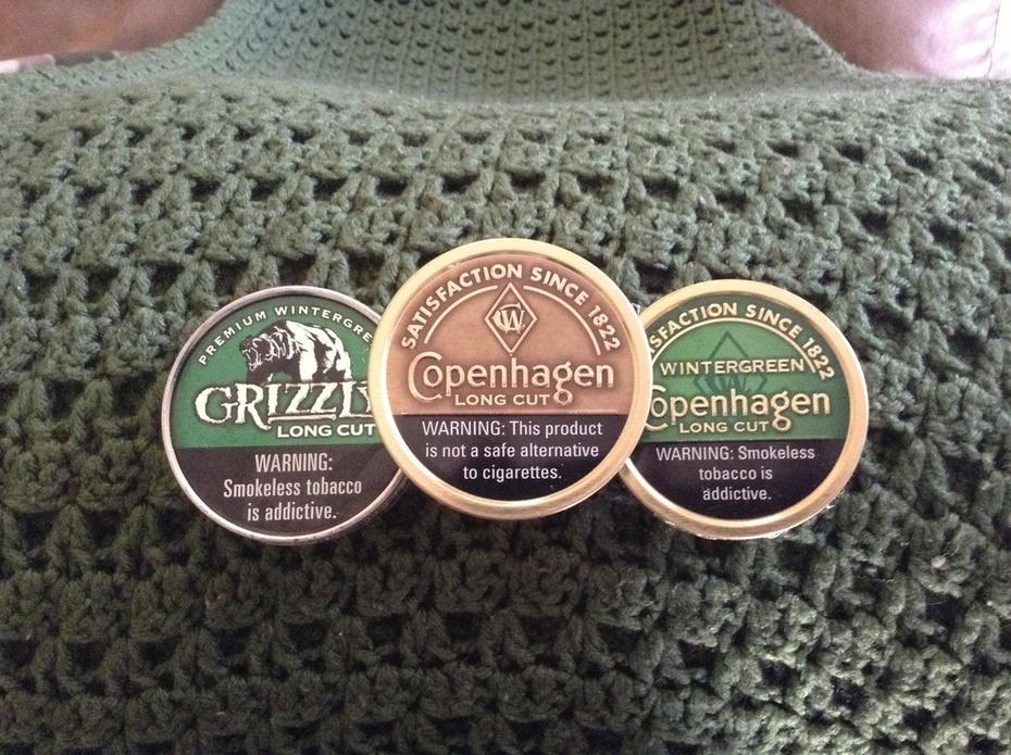 Grizz wintergreen, Copenhagen wintergreen, Copenhagen original
