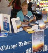 Rachel Madorsky book siging at the Chicago Tribune Printers Row Fest