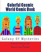 Colorful Cosmic World Comic Book