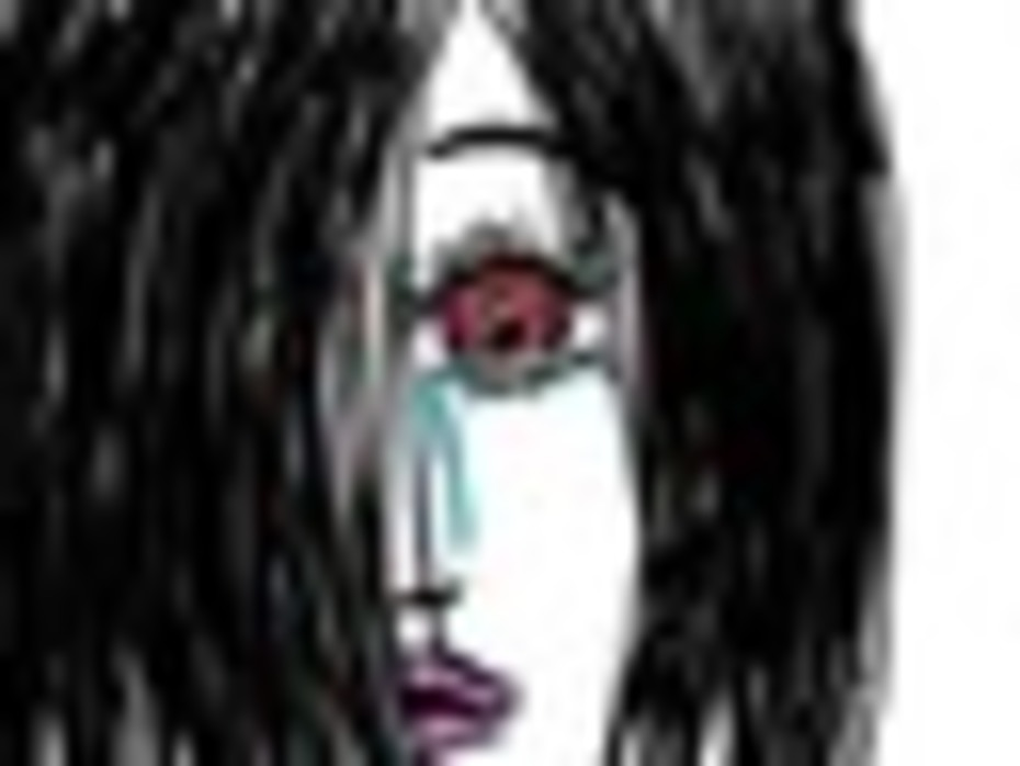 ~~red eye, pink lips, sad eye~~