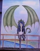 Dragon girl....