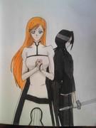 Inoue and Rukia