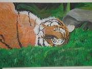 Akryl tigern igen