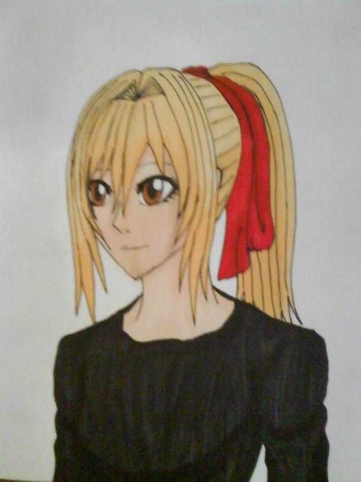 Manga Colour Female