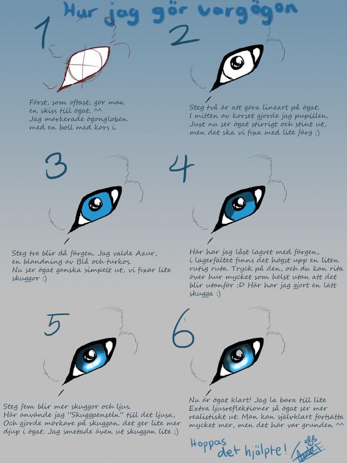 Ögon tutorial