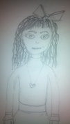 läskig docka