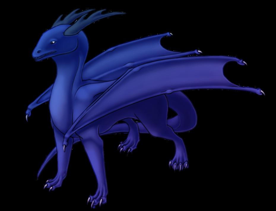 blue dragon transparent