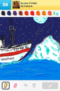 Titanic, Draw something