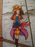 Pirate on the sea...