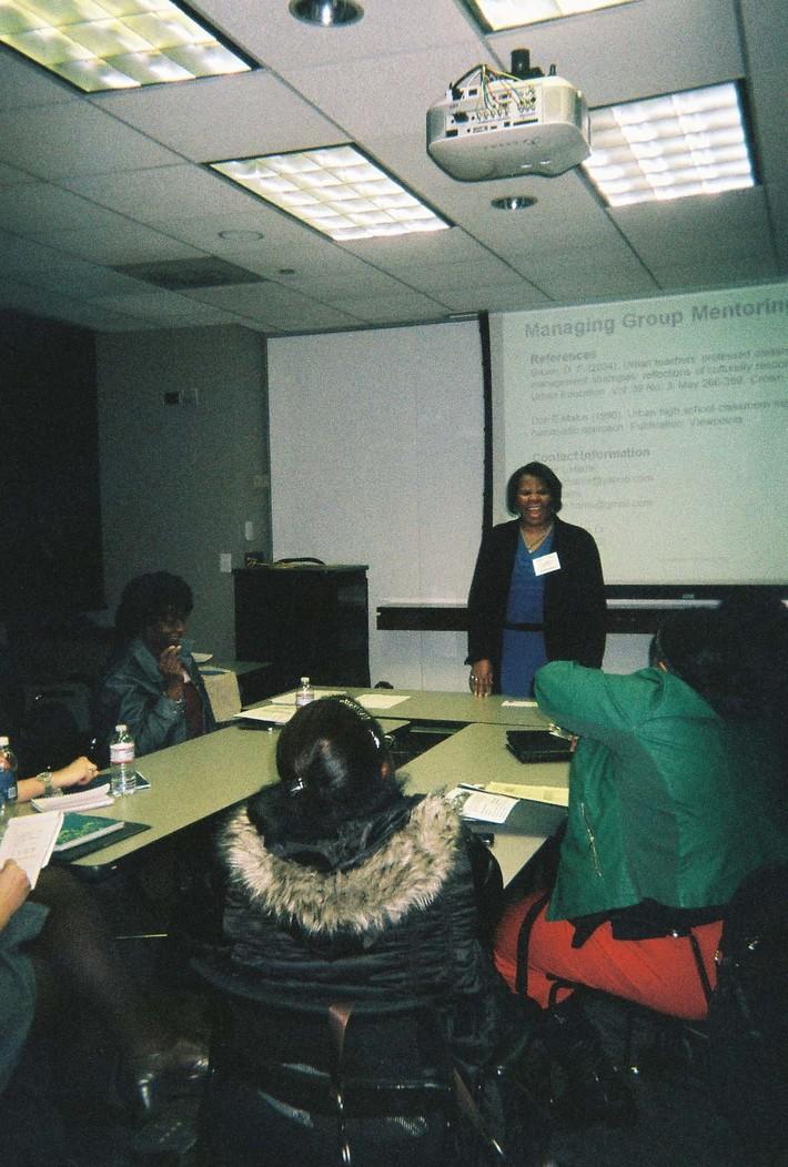 Carrie Harris, Tutor-Mentor Summit, Indy