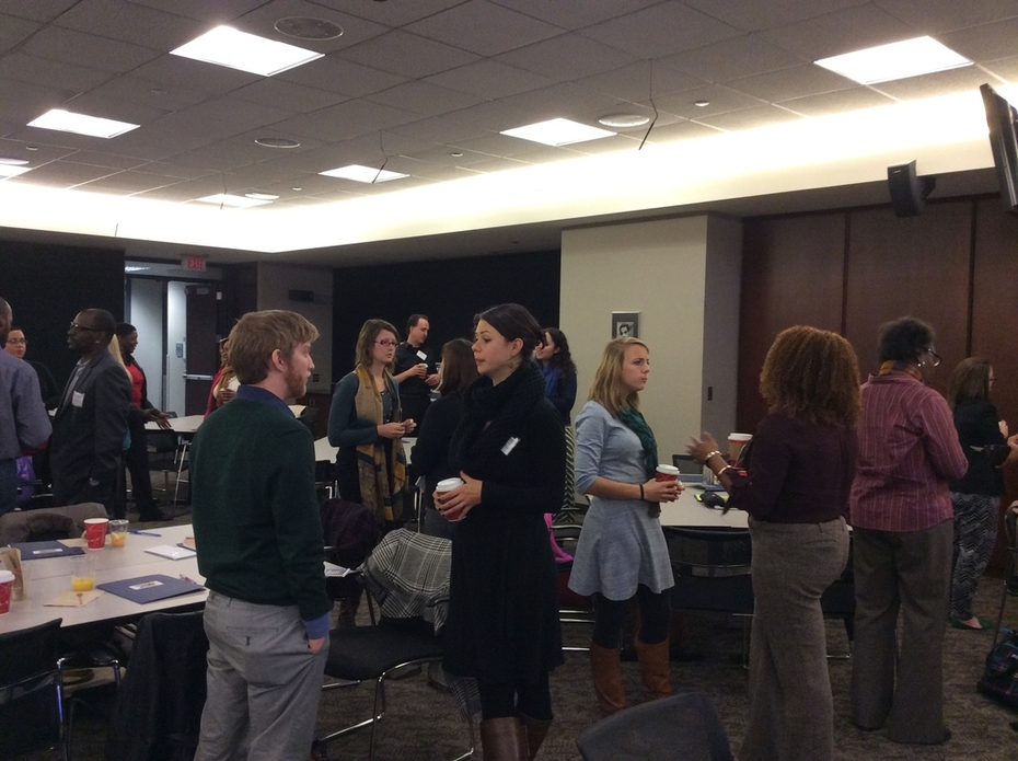 Networking at Nov. 14 T/M Conf -2
