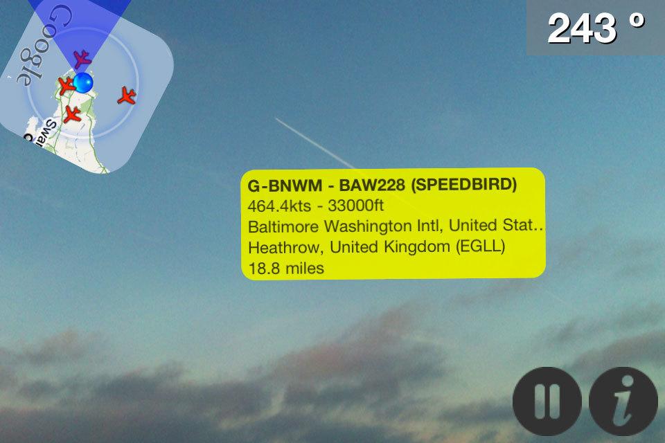 Plane Finder AR Flight Tracker App - Pinkfroot
