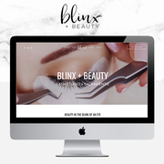 Web Design for Eyelash Extensions Lash Artist