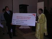 WV International Peace Prize -- Peacemaking Award 2010