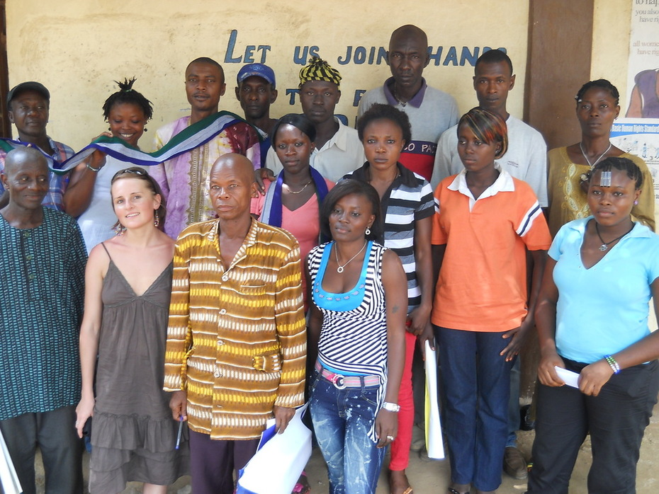 Human Rights and Conflict Transformation Training in Sierra Leone