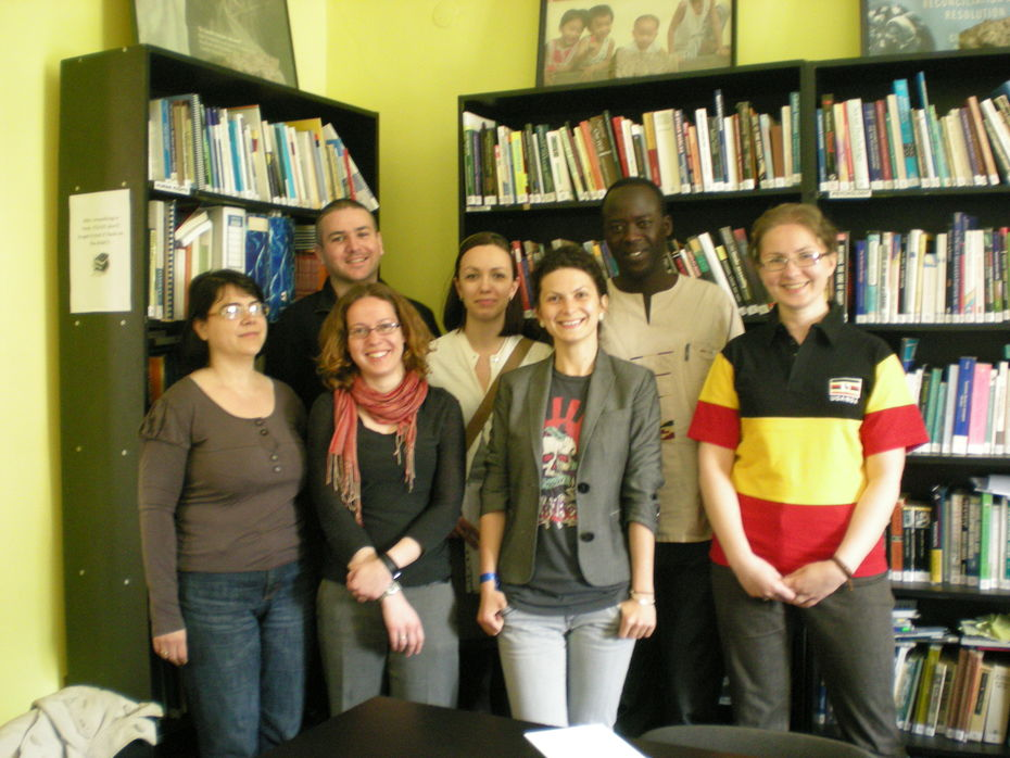 Hon. Otto Odonga Visits PATRIR and Romania