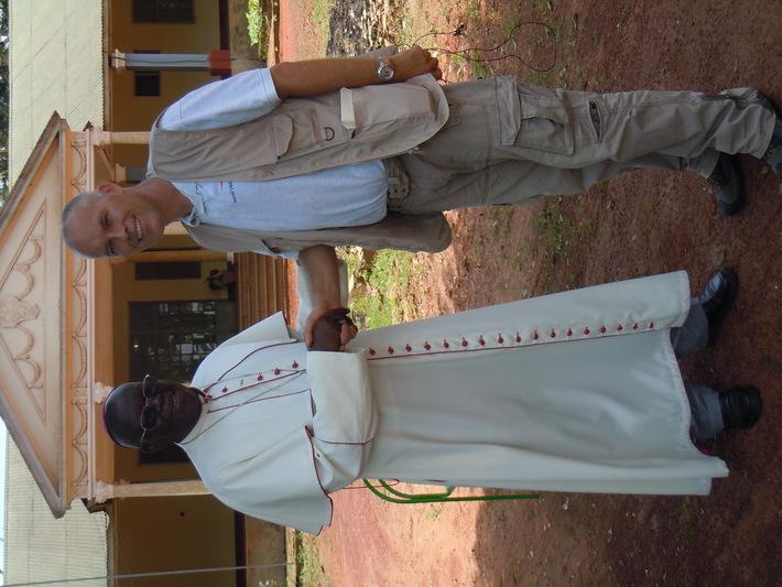 Archbishop Odama and Lutz Hahn