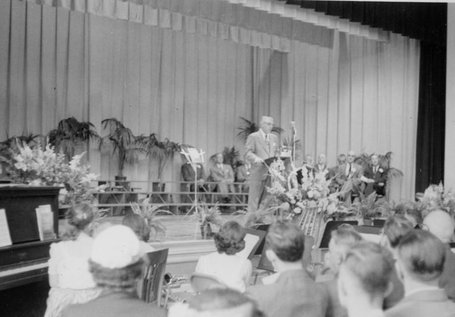 Joyce Kilmer Cornerstone 1952 Unknown speaker
