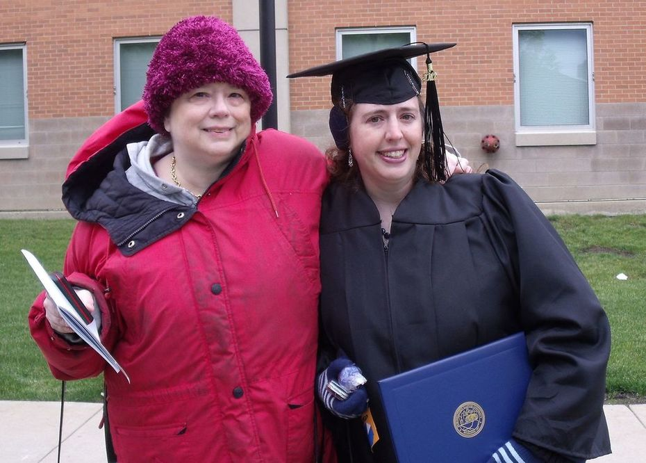 My college graduation, May 2010