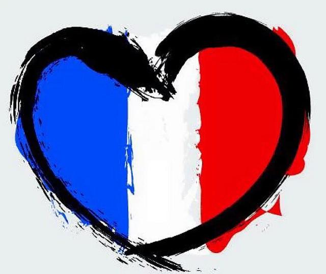Solidarity with Paris.