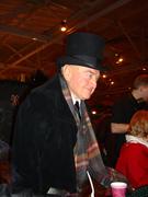 Dad at the Dickens Fair in San Francisco