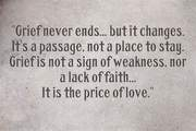 Grief price of love