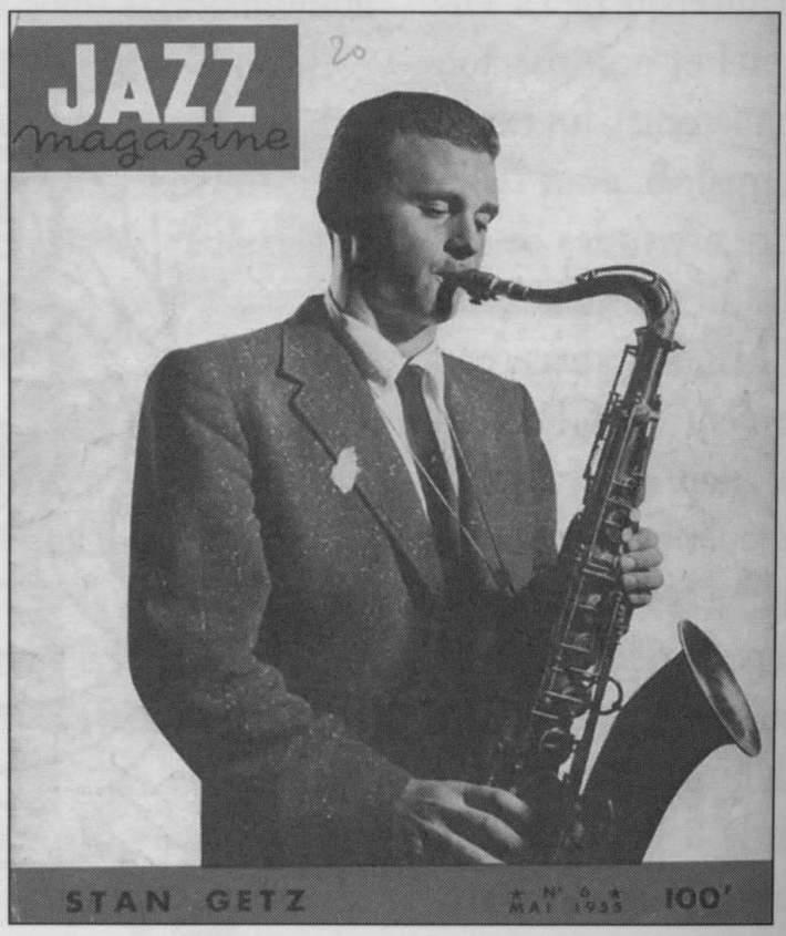 Getz-JazzMag-1955