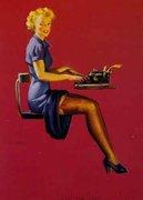 pinup secretary
