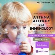 ASMA - Congresso internazionale, 7-8 Novembre 2018 Singapore