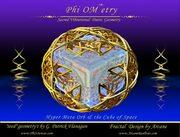 Phi-Ometry Hyper-Metanode Cuber of Space