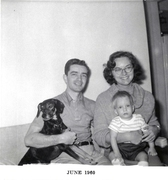 My Mom and Dad and our dog